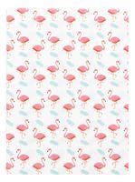 """Обложка для паспорта """"Фламинго"""""""