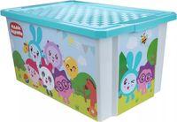 """Ящик для хранения игрушек """"Малышарики"""" (арт. LA1128)"""