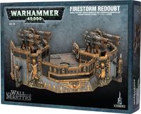 "Ландшафт ""Warhammer 40.000. Wall of Martyrs - Firestorm Redoubt"" (64-58)"