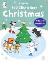 Christmas. Sticker book