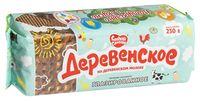 """Печенье сахарное глазированное """"Деревенское"""" (230 г)"""