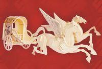 """Сборная деревянная модель """"Летучая колесница"""""""