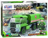 """Конструктор """"Tank Battle. Военный грузовик"""" (91 деталь)"""