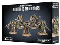 Warhammer 40.000. Death Guard. Blightlord Terminators (43-51)