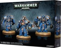 """Набор миниатюр """"Warhammer 40.000. Space Marine Centurion Squad"""" (48-24)"""