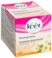 """Теплый воск для депиляции Veet Warm Wax """"С ароматом жасмина"""" (250 мл)"""