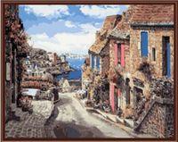 "Картина по номерам ""Испанская улица"" (400х500 мм)"
