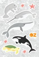 "Набор наклеек ""Морские животные"" (А6)"