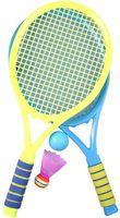 Набор для игры в теннис и бадминтон (арт. DV-S-58)