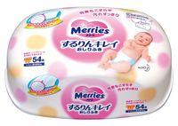 """Влажные салфетки детские """"Merries"""" (54 шт.)"""