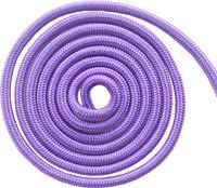 Скакалка для художественной гимнастики (3 м; фиолетовая)
