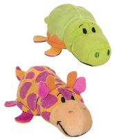 """Мягкая игрушка """"Вывернушка ням-ням. Крокодильчик-жираф"""" (12 см; с ароматом)"""