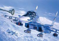 """Бомбардировщик """"SUKHOI SU-34"""" (масштаб: 1/72)"""