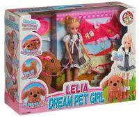 """Игровой набор """"Кукла Лейла с интерактивной собачкой"""""""