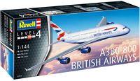 "Сборная модель ""Аэробус A380-800"" (масштаб: 1/144)"