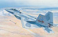 """Истребитель """"F-22 Raptor"""" (масштаб: 1/48)"""