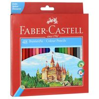 """Набор карандашей цветных """"Faber-Castell ECO. Замок"""" (24 цвета; с точилкой)"""