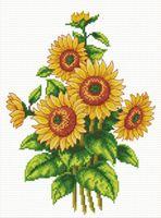 """Вышивка крестом """"Цветы солнца"""""""