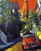 """Картина по номерам """"Мигель Фрейтас. Париж"""" (400х500 мм)"""