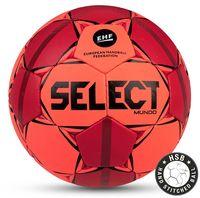 """Мяч гандбольный Select """"Mundo"""" №2 (оранжевый/красный/черный)"""