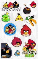 """Набор глянцевых наклеек """"Angry Birds"""" №37.1"""