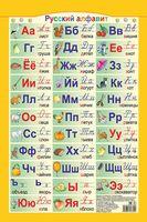 Справочные материалы: Русский алфавит