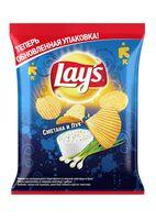 """Чипсы картофельные рифленые """"Lay's. Сметана и лук"""" (80 г)"""