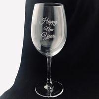 """Бокал для вина """"HAPPY NEW YEAR"""" (615 мл)"""