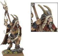 "Миниатюра ""Warhammer FB. Beastmen Great Bray-Shaman"" (81-12)"