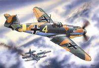 Германский истребитель Bf 109F-4 (масштаб: 1/48)