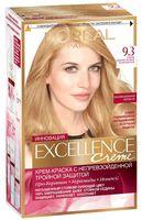 """Крем-краска для волос """"Excellence"""" (тон: 9.3, очень светло-русый золотистый)"""