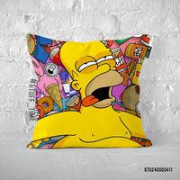 """Подушка """"Симпсоны"""" (арт. 411)"""