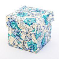 "Подарочная коробка ""Flowers"" (7,5х7,5х7,5 см)"