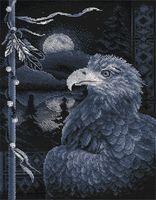 """Вышивка крестом """"Легенда о птице"""" (240х325 мм)"""