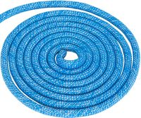 Скакалка для художественной гимнастики Pro (3 м; синяя с люрексом)