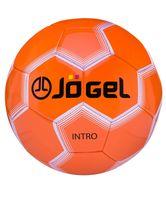 """Мяч футбольный Jogel """"Intro"""" №5 (оранжевый)"""