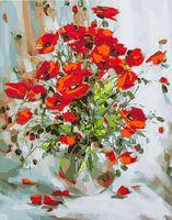 "Картина по номерам ""Красные маки"" (500х650 мм)"