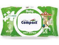 """Влажные салфетки детские """"Ecopack"""" (72 шт.)"""