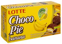 "Пирожное ""Lotte. Choco-Pie Banana"" (6 шт.)"