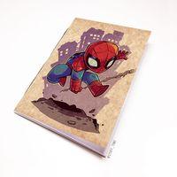 "Блокнот крафт ""Человек-паук"" А7 (898)"