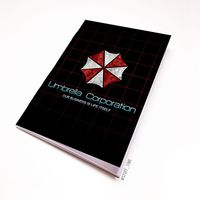 """Блокнот """"Обитель зла. Umbrella Corporation"""" (А5; арт. 424)"""