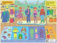 Одежда и обувь. Плакат