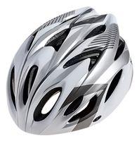 """Шлем велосипедный """"WT-012"""" (чёрный/серый/белый)"""