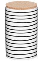 Банка для сыпучих продуктов фарфоровая (94х94х160 мм)
