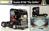 "Сборная модель ""Грузовик Scania R730 ""The Griffin"" (масштаб: 1/24)"